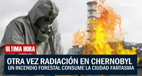 chernobyil se destrulle mas radiacion