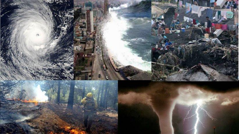 terremoto huracan tsunami incendio tormenta internacional