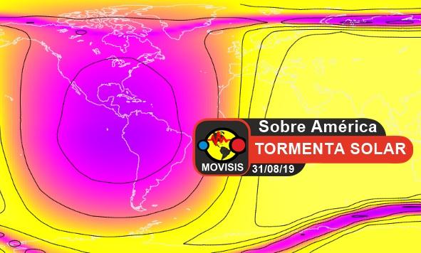 tormenta solar sobre america incrementa calor temperatura terremotos