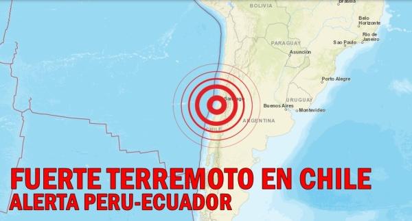 chile sismo santiago de chile