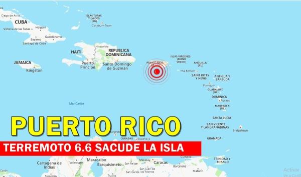 terremoto en puerto rico daños graves