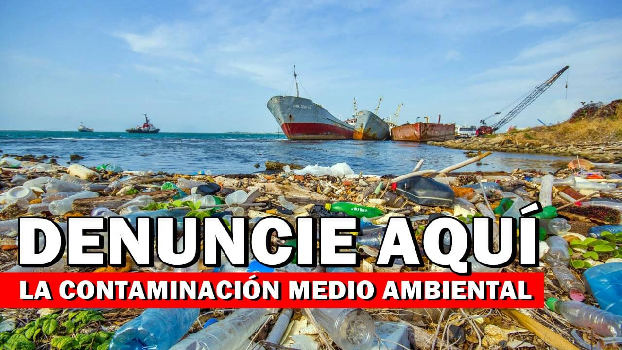 DENUNCIA DE CONTAMINACIÓN MEDIO AMBIENTAL