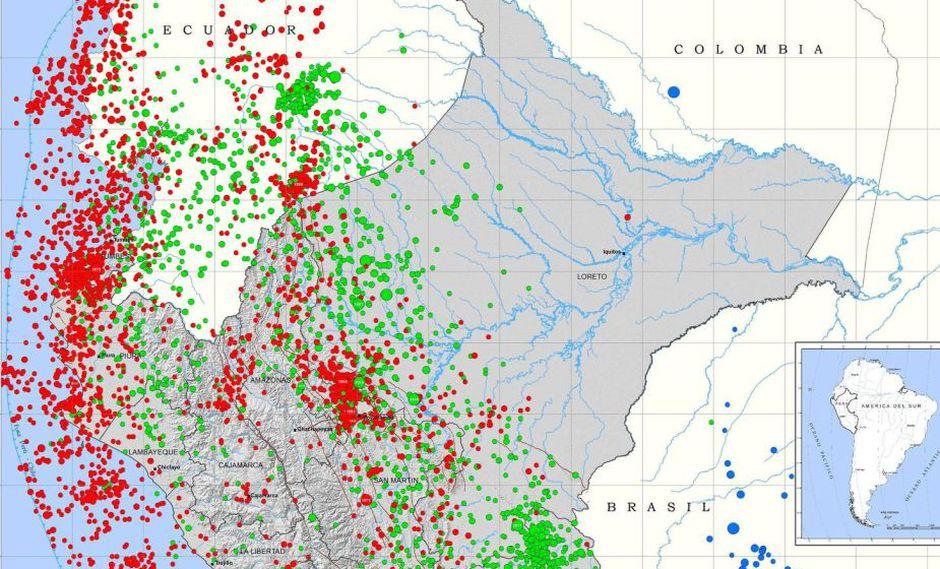 terremotos en tiempo real